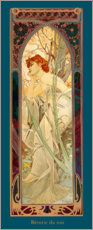 Wall sticker  Reverie du soir - Alfons Mucha