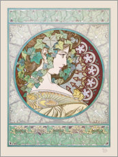 Gallery print  Ivy - Alfons Mucha