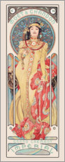 Wall sticker  Moet & Chandon, Dry Imperial - Alfons Mucha
