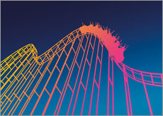 Wall sticker  rollercoaster - David Fairfield
