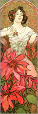 Wall Stickers  Ruby - Alfons Mucha
