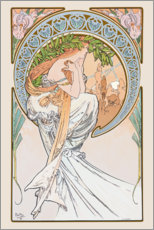 Gallery print  The Arts - Poetry - Alfons Mucha