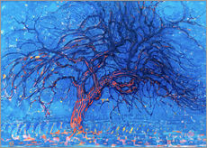 Wall Stickers  The Red Tree - Piet Mondrian