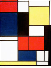 Wall sticker  Tableau II - Piet Mondriaan