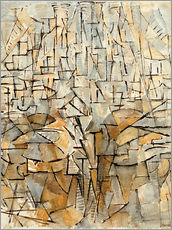 Gallery Print  Tableau No. 4; Composition - Piet Mondrian