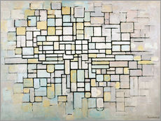 Gallery print  Composition No. II - Piet Mondriaan