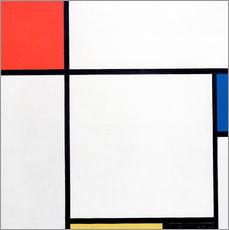Gallery Print  Composition Red, Blue, Yellow, Black - Piet Mondrian