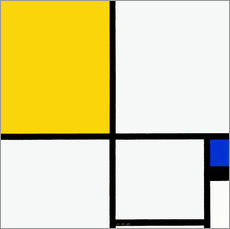 Wall Stickers  Composition No. II. - Piet Mondrian
