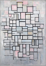 Wall sticker  Composition No. IV. - Piet Mondrian