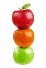 Wall sticker  Fruits Apples - pixelliebe