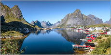Gallery print  Summer on Lofoten Islands - Sascha Kilmer