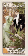 Wall sticker  Flirt - Alfons Mucha