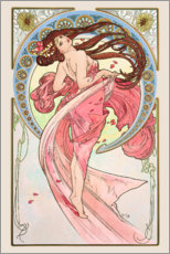 Wall sticker  The Arts - Dance - Alfons Mucha