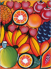Wall sticker  Exotic fruit variation - Chilambo