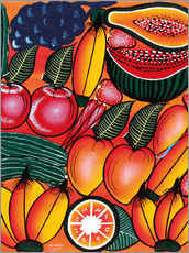 Gallery Print  Exotic Fruits All kinds of - Chilambo