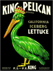 Foam board print  King Pelican - Advertising Collection
