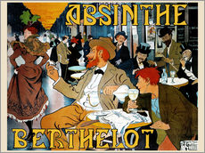 Wall Stickers  Absinthe Berthelot - Henri Thiriet