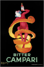 Foam board print  Bitter Campari - Leonetto Cappiello