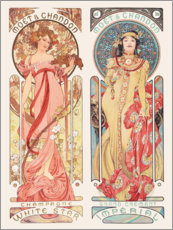 Wall sticker  Moet & Chandon - Alfons Mucha
