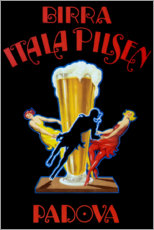 Wall sticker  Birra Itala Pilsen - Leonetto Cappiello