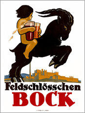 Wall sticker  Feldschlösschen Bock - Advertising Collection