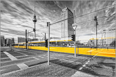 Alexanderplatz Berlin Colorkey