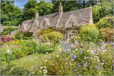 Old Cottages in Bibury, Cotswolds, Gloucestershire (England)