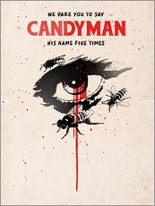 Alternative candyman movie art print