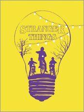 Alternative stranger things yellow version art