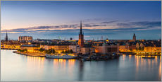Old Town (Gamla Stan) architecture in Stockholm, Sweden