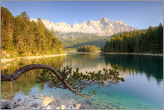 At the Eibsee in Bavaria