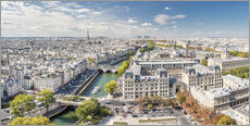 PARIS Skyline from Notre-Dame