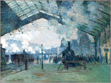 Gare de Saint Lazare: the train from Normandy
