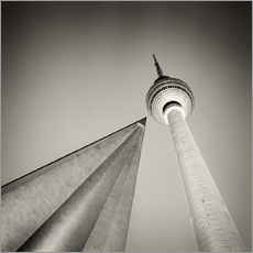 Berlin - Television Tower (Analogue Photography)