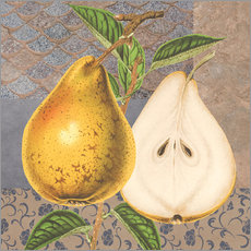 Pear and patterns