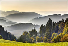 View from the Thuringian Schiefergebirge