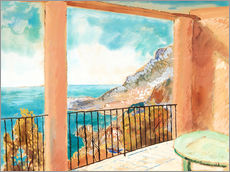 View from the terrace, Mediterranean
