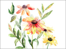Flowers in Watercolor