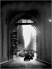 Arch at Grand Central Station - historical
