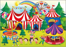 Colorful circus