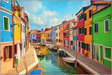 Burano, an island in the Venetian Lagoon