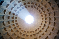 Ceiling of the Pantheon temple, Rome