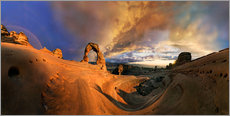 Delicate Arch sundset