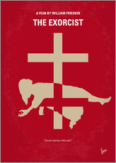 My The Exorcist minimal movie poster