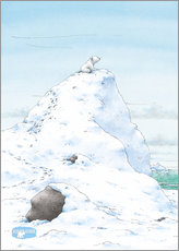 The Little Polar Bear, at the top