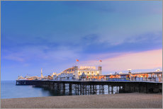 The Palace Pier at dusk