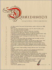 Desiderata - Version German 1