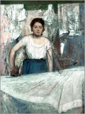 The Woman Ironing