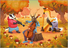 The musicians of the forest