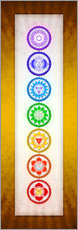 The Seven Chakras Series 6 - Colour Variant Golden Yellow